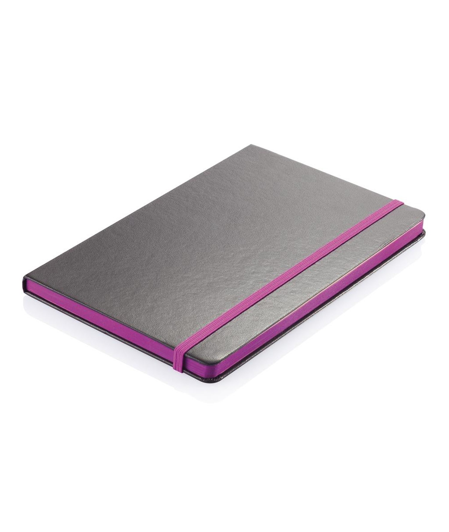 A5 NOTEBOOK WITH COLORED SIDE