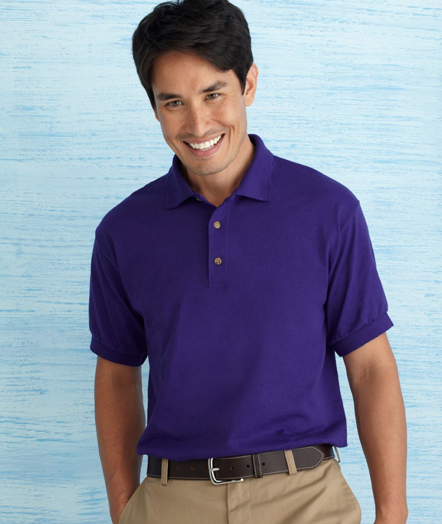 DRYBLEND® ADULT JERSEY POLO SHIRT