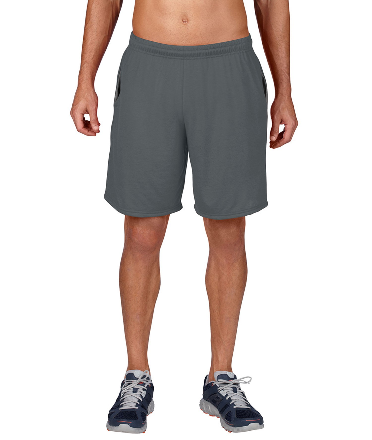 GILDAN PERFORMANCE ADULT SHORTS WITH POCKET