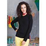 KARIBAN CARLA LADIES LONG SLEEVE ROUND NECK T-SHIRT