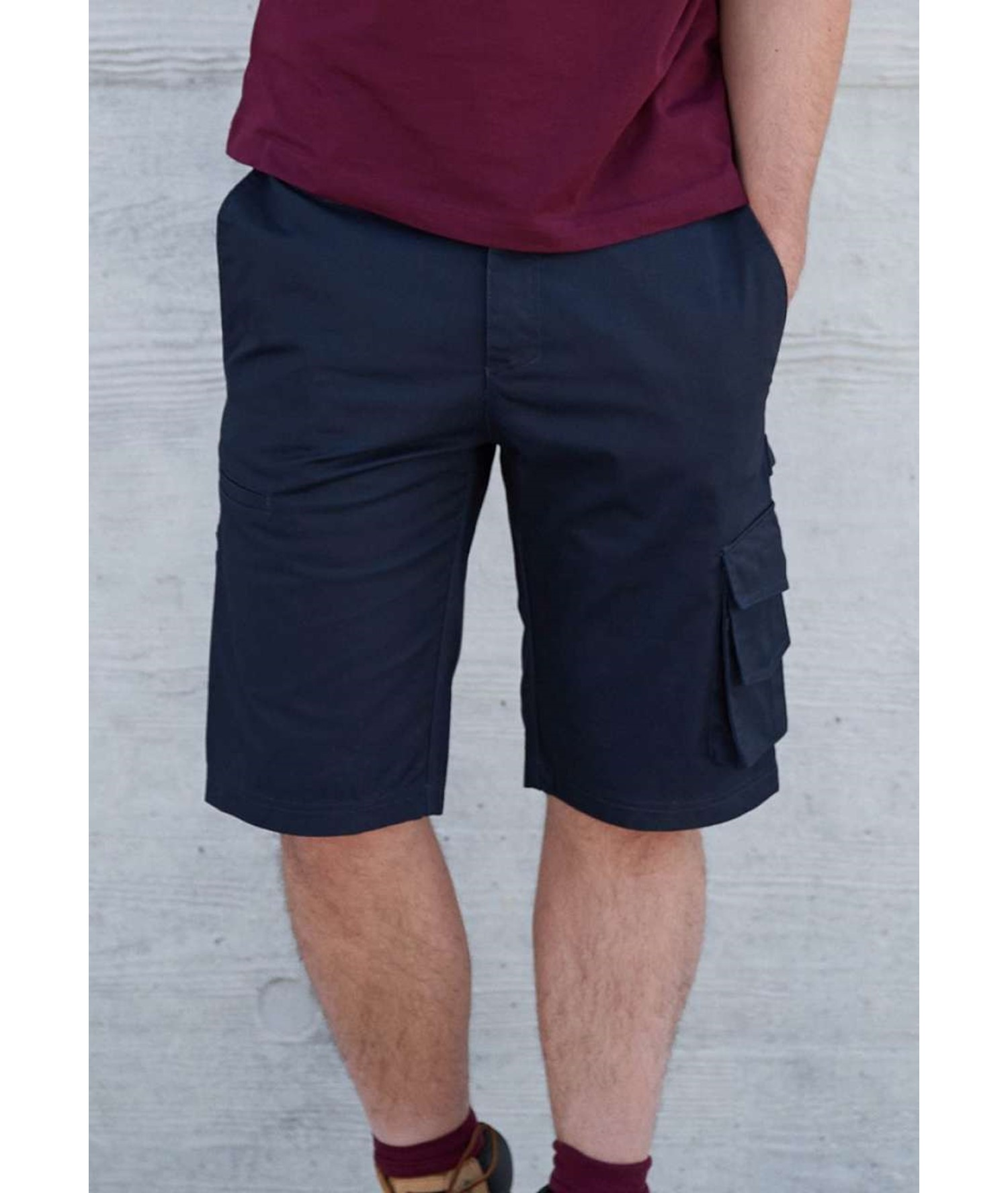 MULTIPOCKET WORKWEAR BERMUDA SHORTS KARIBAN