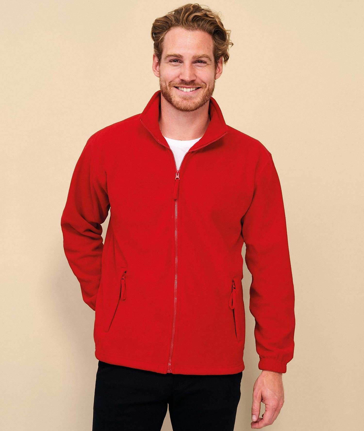 NORTH MEN - ZIPPED FLEECE JACKET