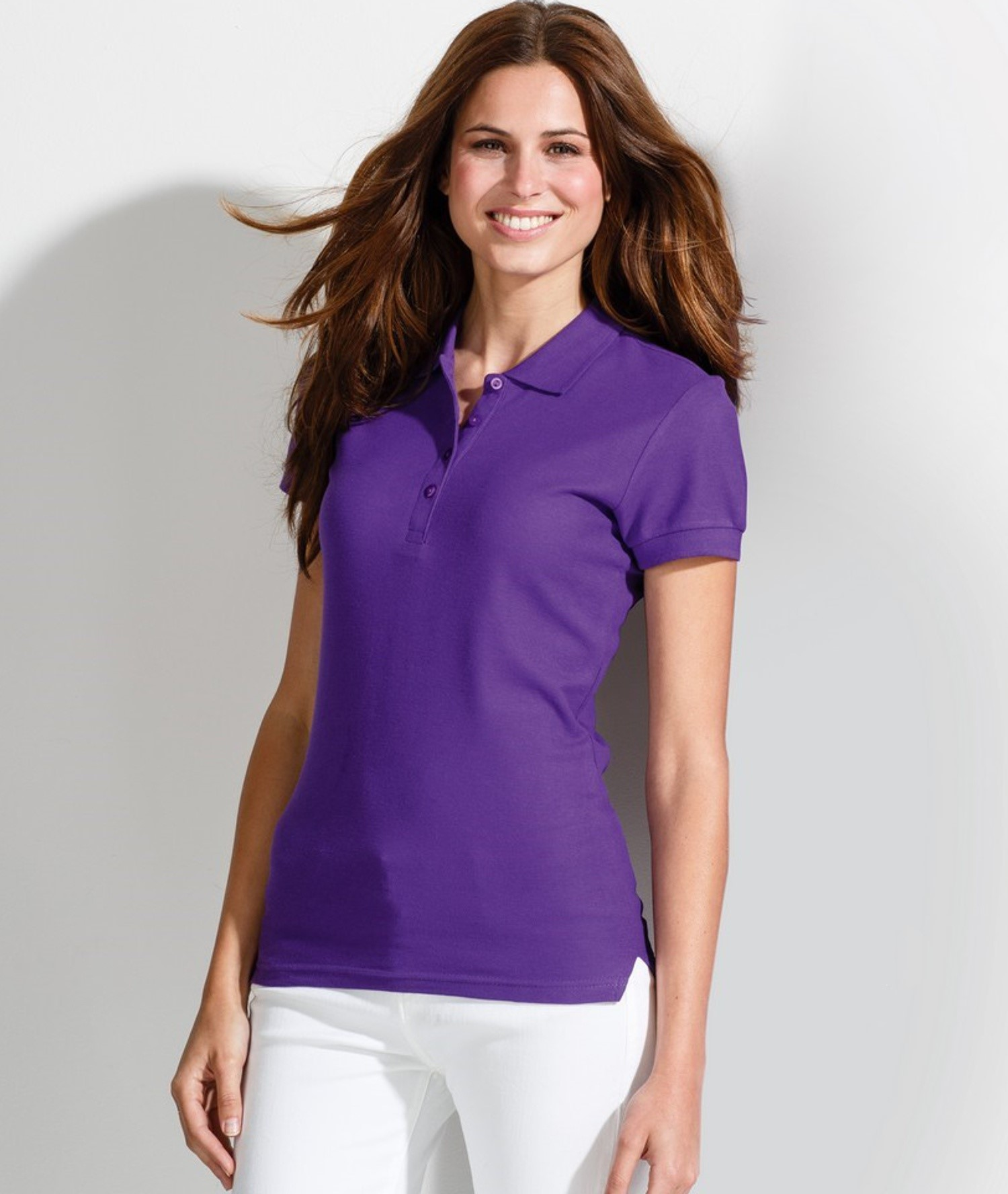 PEOPLE - WOMEN'S POLO SHIRT