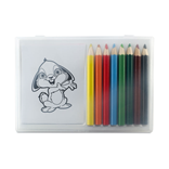 RECREATION - WOODEN PENCIL COLOURING SET