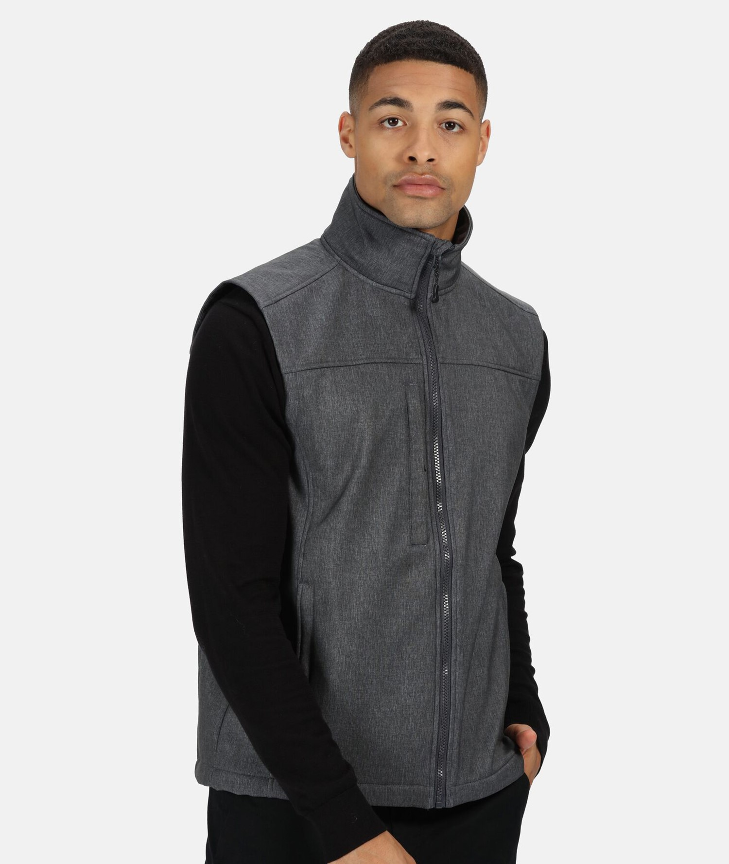 SOFTSHELL BODYWARMER FLUX