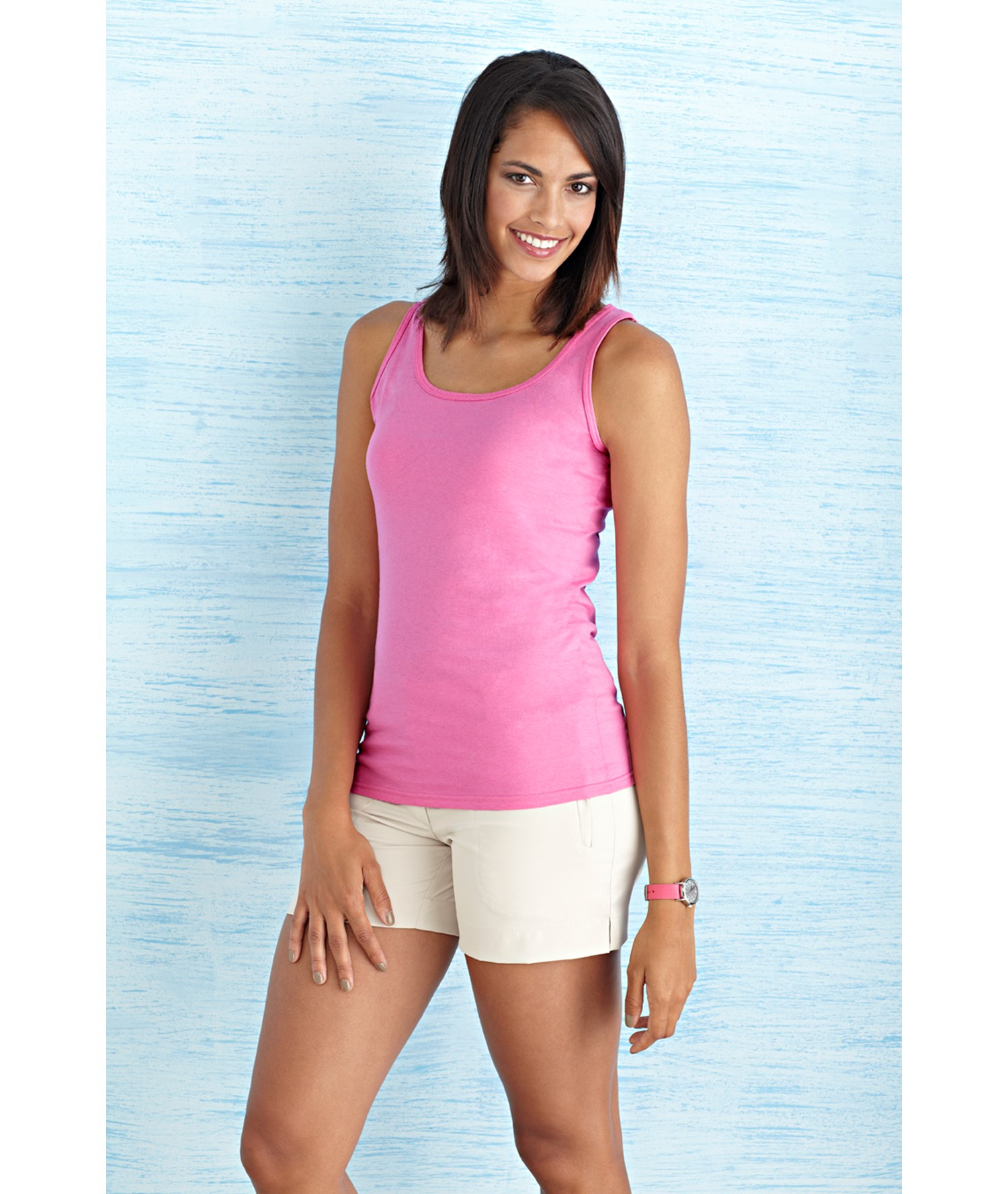 SOFTSTYLE® LADIES' TANK TOP